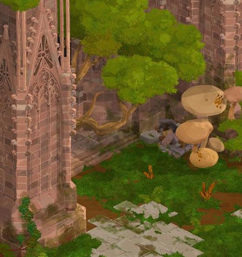 Image du jeu Apocalypsheim représentant la cathédrale de Strasbourg