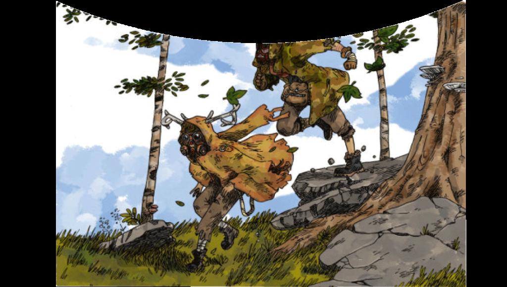 Artwork des personnages d'Apocalypsheim